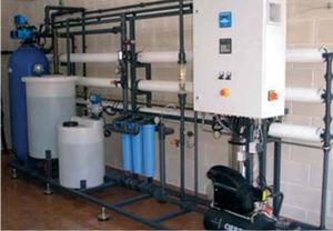 unità ad osmosi inversa per uso industriale / compatta