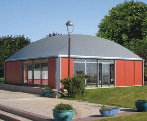 chiosco commerciale / da esterno / in alluminio / in alluminio anodizzato