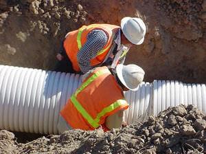 canalizzazione in PVC / per sistema di drenaggio