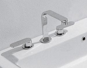 miscelatore doppio comando per lavabo