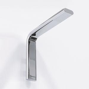 soffione doccia da parete / rettangolare / a pioggia