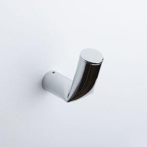 appendiabiti da parete moderno / in ottone / in metallo cromato / individuale