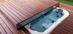 copertura portante mobile per piscina automatica