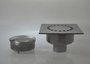 piletta in acciaio inox / stradale / con griglia / su misura