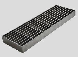 griglia per canaletta in acciaio inox