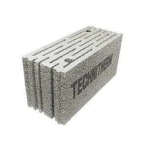 blocco di calcestruzzo alleggerito / per muro / ad alta resistenza / acustico