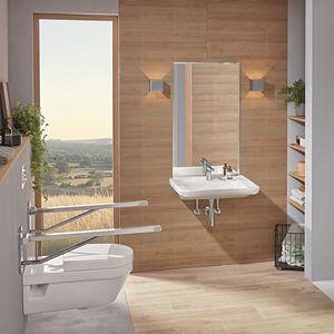 bagno moderno / in ceramica / contract / su misura