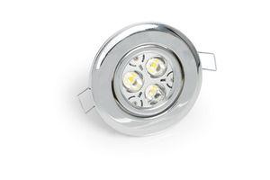 luce LED / tonda / in metallo / in alluminio