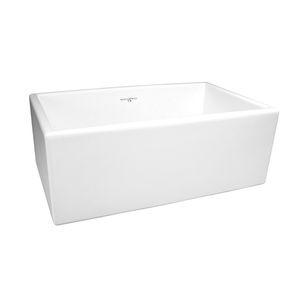 lavello a 1 vasca / in ceramica