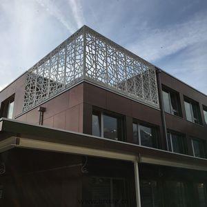balcone a sbarre / in legno / antirapina