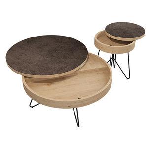 tavolino basso design scandinavo