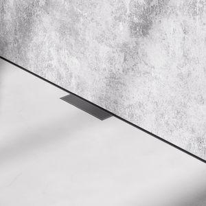 scarico per doccia in acciaio inossidabile spazzolato