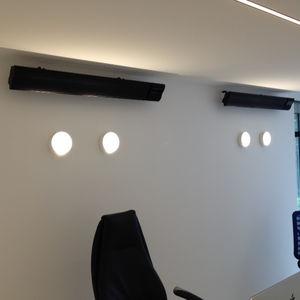 stufa ad infrarossi da parete