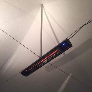 stufa ad infrarossi a soffitto