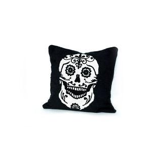 cuscino per divano / quadrato / a motivi / in lana