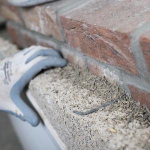 calcestruzzo in lana di canapa / ad alta resistenza / isolante / per muri