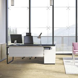 scrivania direzionale / in legno compensato / in laminato / in melamminico