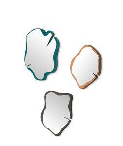 specchio a muro / per camera da letto / da sala / design originale