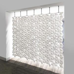 parete modulare / in alluminio / da ufficio / per open space
