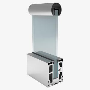 ringhiera in alluminio / in vetro / pannelli in vetro / da interno
