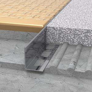 profilo di separazione in acciaio inox / per piastrelle