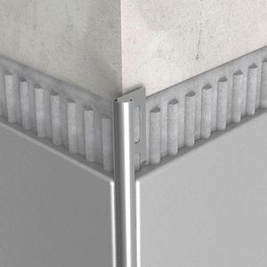 profilo di finitura in acciaio inossidabile