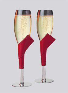 flûte per champagne in stagno