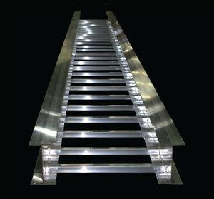 scala portacavi in acciaio