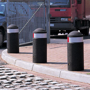 colonna di protezione / in gomma / fissa / flessibile