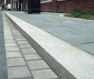 bordura per marciapiede