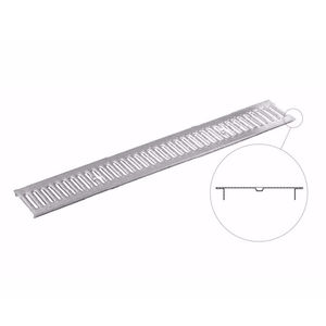 griglia per canaletta in acciaio galvanizzato