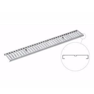 griglia per canaletta in acciaio inox / in acciaio galvanizzato / per spazio pubblico