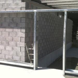 blocco in argilla per parete