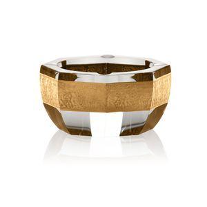 portacenere in oro