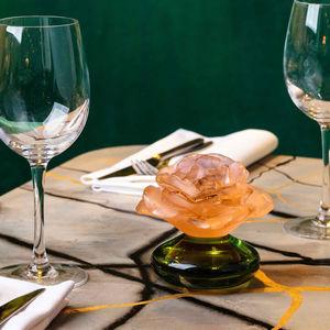 scultura in cristallo