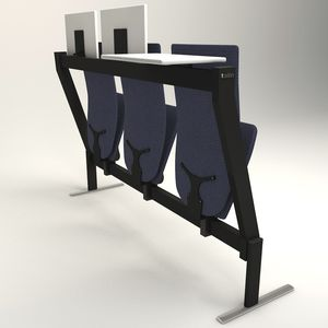 sedia per auditorium moderna