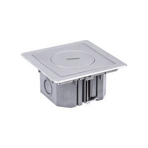scatola per prese di corrente a pavimento / da incasso / per presa di corrente