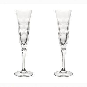 flûte per champagne in cristallo