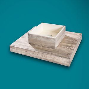piano lavabo in pietra naturale