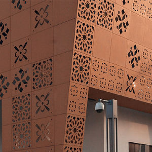 facciata ventilata in terracotta