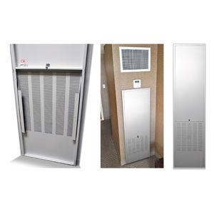 sportello d'ispezione per parete / rettangolare / in acciaio / a taglio termico