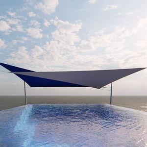 tenda a vela resistente agli UV