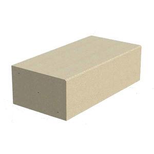 bordura divisoria / in calcestruzzo / rettangolare
