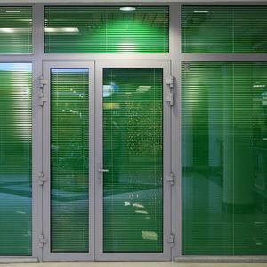 cornice di porte in alluminio