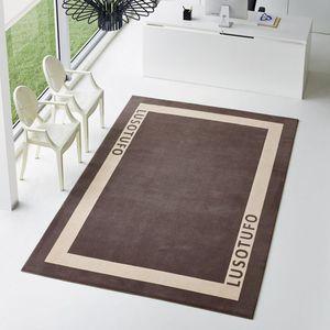 tappeto moderno / motivo geometrico / rettangolare / su misura