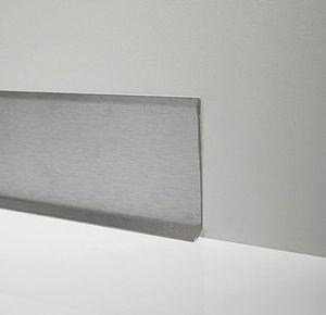 battiscopa in acciaio inox