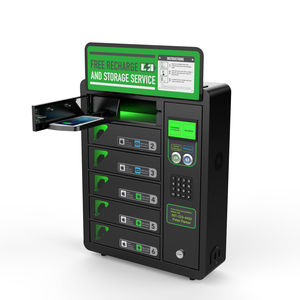 stazione di ricarica per telefono cellulare / sicura