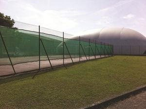 recinzione per campo sportivo / in rete metallica / in plastica