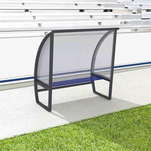 copertura in telo e struttura metallica per spazi pubblici per campo sportivo