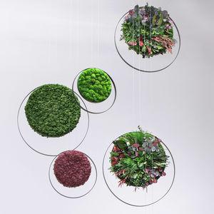 quadro vegetale stabilizzato / in muschio / in fogliame / da interno